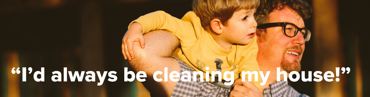 Home-based business own would always be cleaning