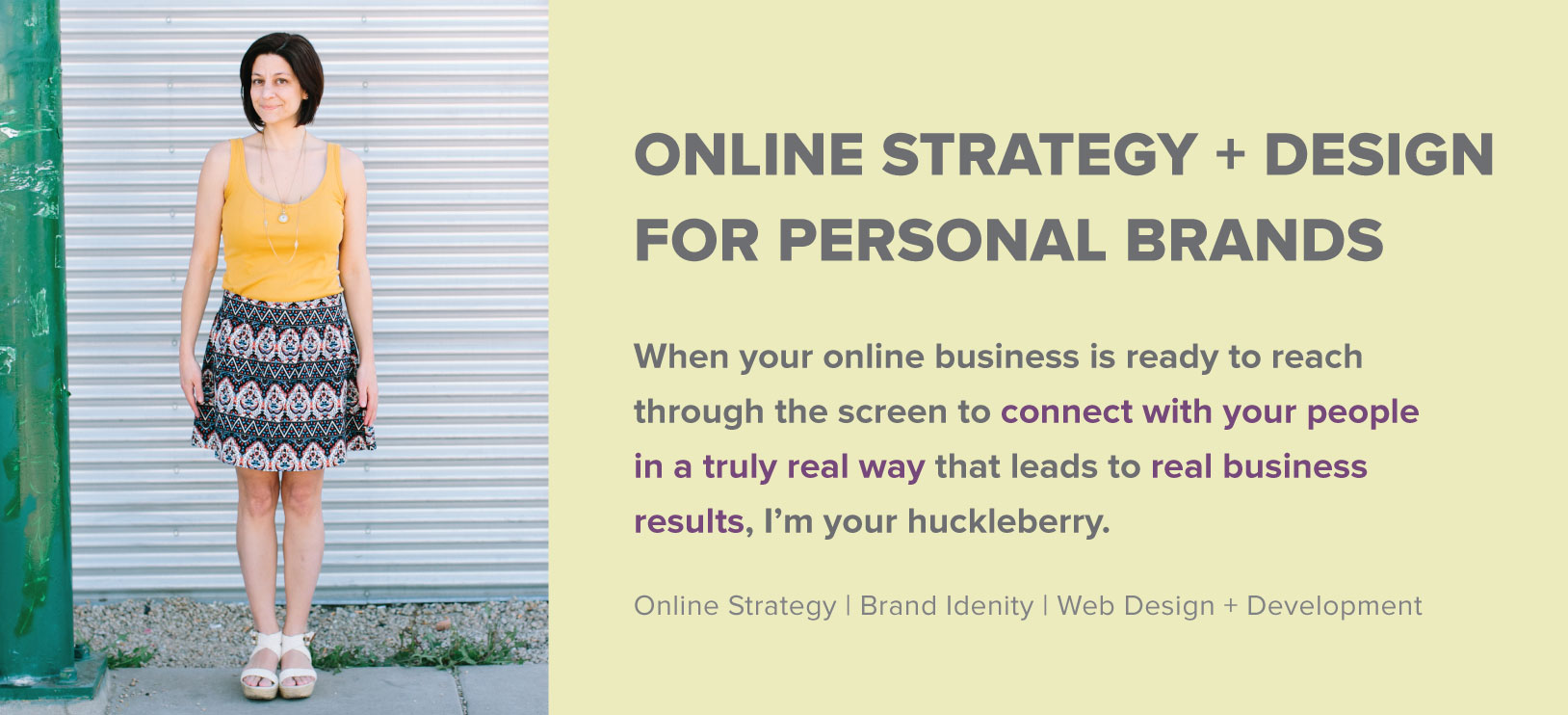 Online Strategy and Design for Personal Brands